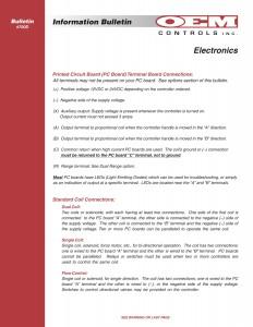 IB 700D Electronics